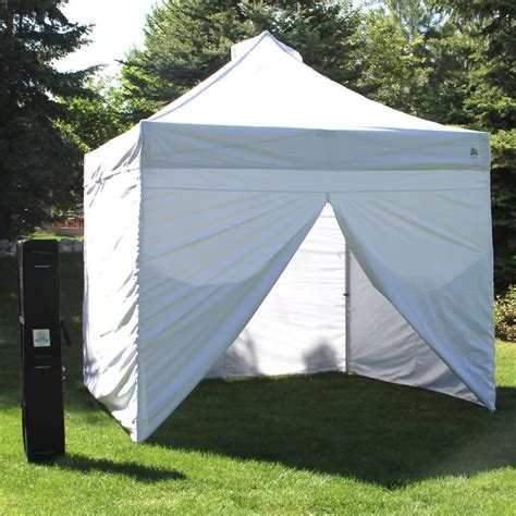 10x10 canopy with walls 10 x 10 instant pop up canopy tent