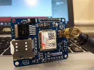 Measuring Temperature And Humidity Using Dht22 And Sending Data Via Sms Using Sim800c Module