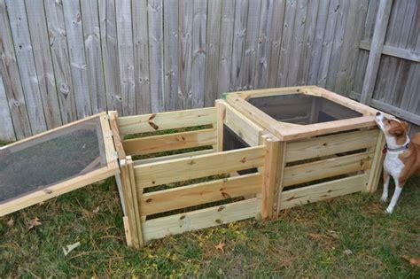 diy compost bins  composting food  yard waste