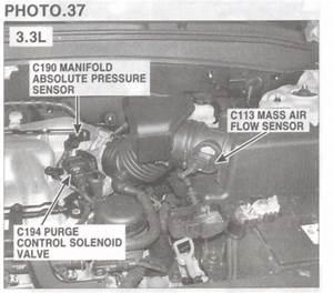 Purge Control Valve Solenoid  Engine Performance Problem