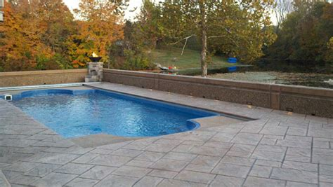 fixing slippery stamped concrete  pools concrete decor