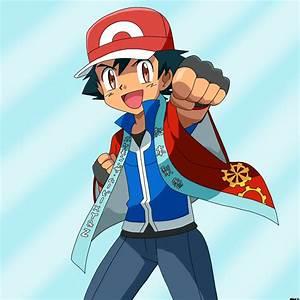 pokemon ash and lyra