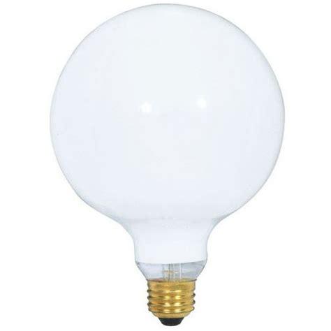 white g40 globe light bulb 60 watts