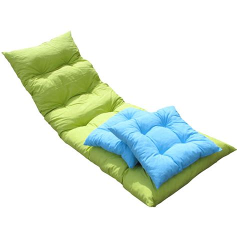 coussin bain de soleil flocons anis 2 assises turquoise oogarden
