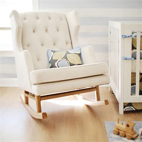 wooden rocking chair cushions for nursery decor references