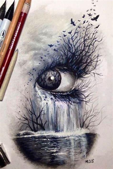 Pin Katarina Matic Eyes Art Drawings