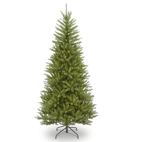 dunhill artificial tree corporation national tree company 6 5 ft dunhill fir slim tree duslh1 65 the home depot