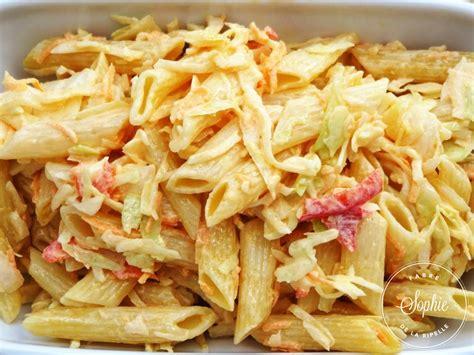 cuisiner le chou blanc en salade salade de penne au chou blanc la tendresse en cuisine