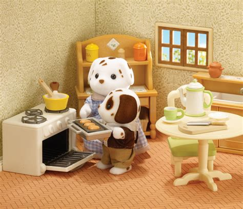 sylvanian country kitchen buy country kitchen free cookware sylvanian 2644