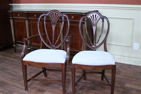 tall  sheraton style dining chairs hepplewhite chairs