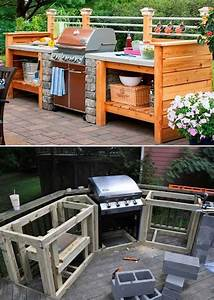 Diy, Grill, Station, Ideas, To, Make, Your, Grilling, Easier