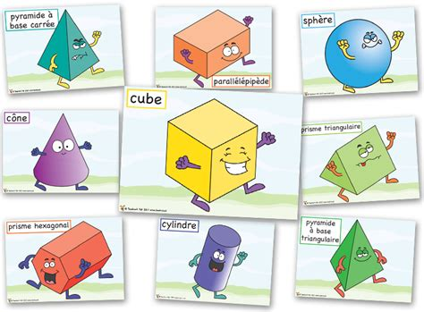 formes geometriques en anglais personnages pour apprendre les formes g 233 om 233 trie mesure cycle 2 3 pour