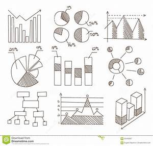 Graphs  Charts And Diagrams  Hand Drawn Business Stock