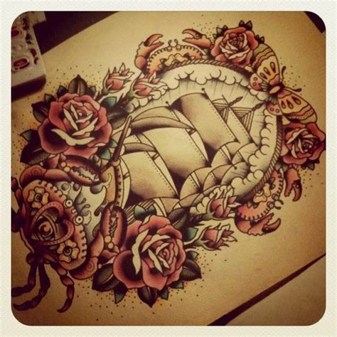 Sail boat | Nautical tattoo, Inspirational tattoos ...