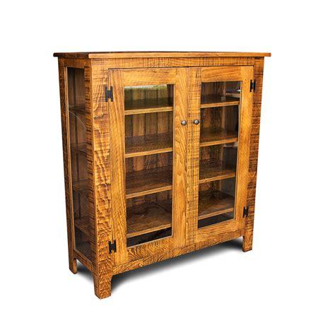 rustic storage cabinet with doors rustic storage cabinet w glass doors no 2