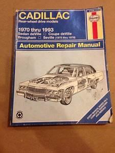 Sell Cadillac Haynes Repair Manual 1970