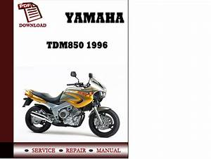 Yamaha Tdm850 1996 Workshop Service Repair Manual Pdf