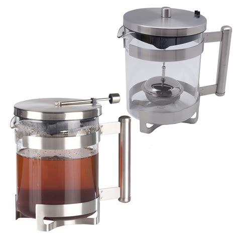 Teekanne Modern Design by Glas Edelstahl Zubereiter Teebereiter Teekanne Cing