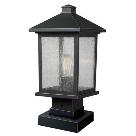 pier mount outdoor post lighting bellacor