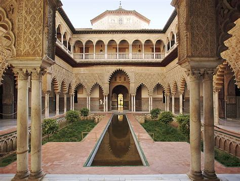 andalucia architecture andalusian alcazar sevilla guia reales arquitectura el alcazares andalusia