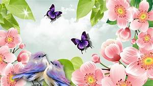 Spring Butterfly Wallpaper Desktop 7779 - HD Wallpapers Site