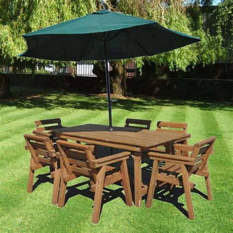 patio set garden furniture ft table  chairs solid