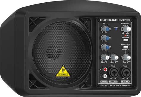 behringer speaker b205d active 150 watt pa monitor rainbow guitars