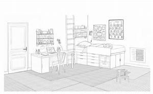 dessin chambre pre ado salle de jeux commune dessins With dessiner sa chambre en 3d