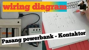 Wiring Diagram Pasang Powerbank Pengganti Genset  Part03