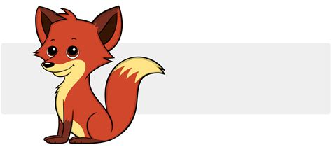 Cute Cartoon Fox Gifts & Collectibles