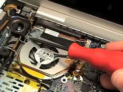 Macbook Pro 15 Quot Repair Fan Removal Youtube