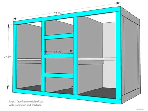 build kitchen island plans how to build a diy kitchen island cherished bliss 4959