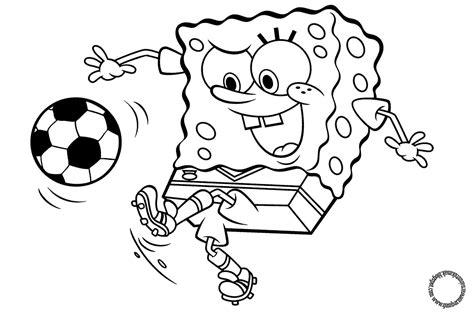 gambar mewarnai spongebob untuk anak gambar mewarnai