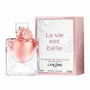 Bouquet De Printemps : lanc me la vie est belle eau de parfum bouquet de printemps 50ml feelunique ~ Melissatoandfro.com Idées de Décoration
