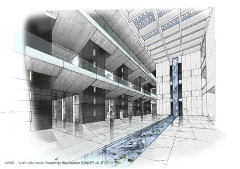 Architectural Sketches By Collin Byrnes At Coroflotcom