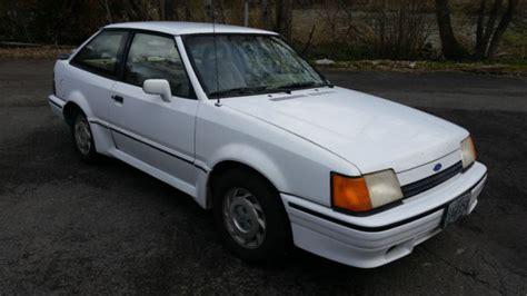 electric and cars manual 1989 ford escort transmission control 1989 ford escort gt hatchback 2 door 1 9l survivor no reserve