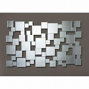 Deknudt Homka Gizeh Miroir mural design multi carreaux 1 85 pas cher Achat / Vente Miroirs
