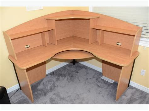 office desk under 200 corner office desk w hutch and keyboard tray nepean ottawa