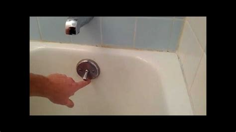 bath tub trip lever bath tub stopper replacement  adjustnment youtube