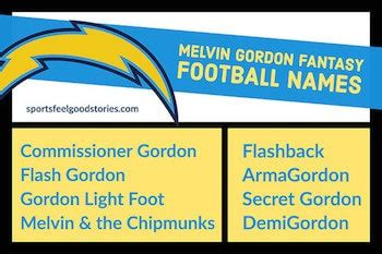 fantasy football team names  funny good clever