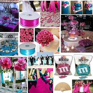 Aqua And Fuchsia Project Wedding