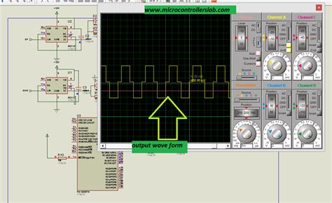 modified sine wave inverter using microcontroller