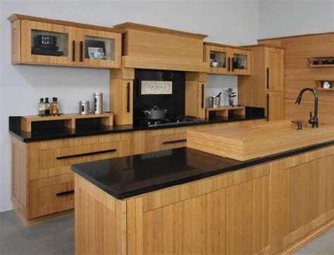 Bamboo Shaker  Solid Wood Kitchen Cabinets  Diggit Victoria