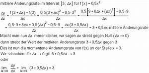 Momentane änderungsrate Berechnen : einf hrung in die differentialrechnung mathe brinkmann ~ Themetempest.com Abrechnung