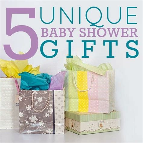 baby shower gifts for 5 unique baby shower gifts daily