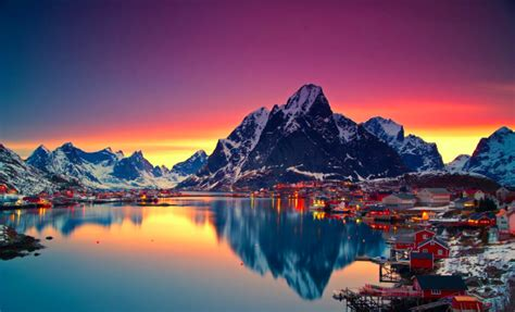 inspiring landscapes  norway cat  water