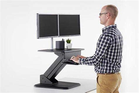 sit stand desk options yoga mats and props stretch now