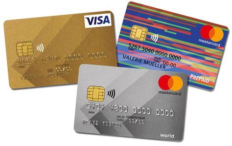 kreditkarte bestellen viseca card services