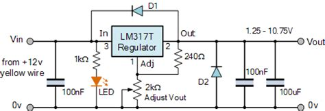 Variable Voltage Power Supply Using The Lmt