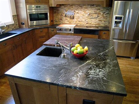 Soapstone Countertop Maintenance by 8 Popular Countertop Materials The Pros And The Cons